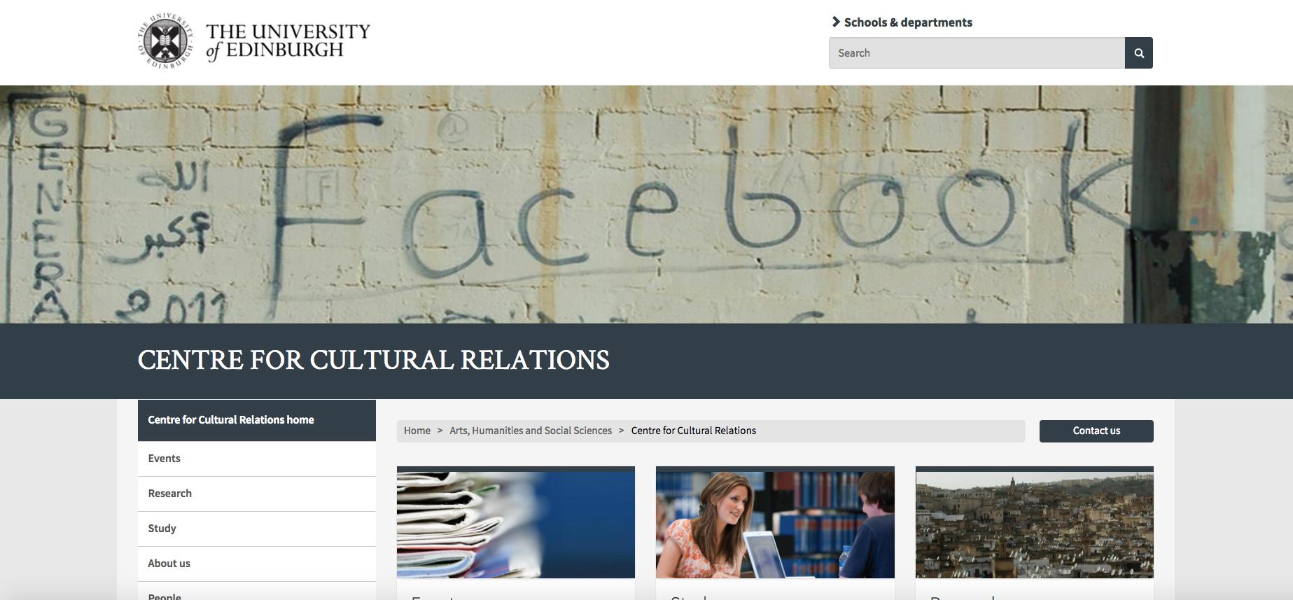 Edinburgh University Centre for Cultural Relations