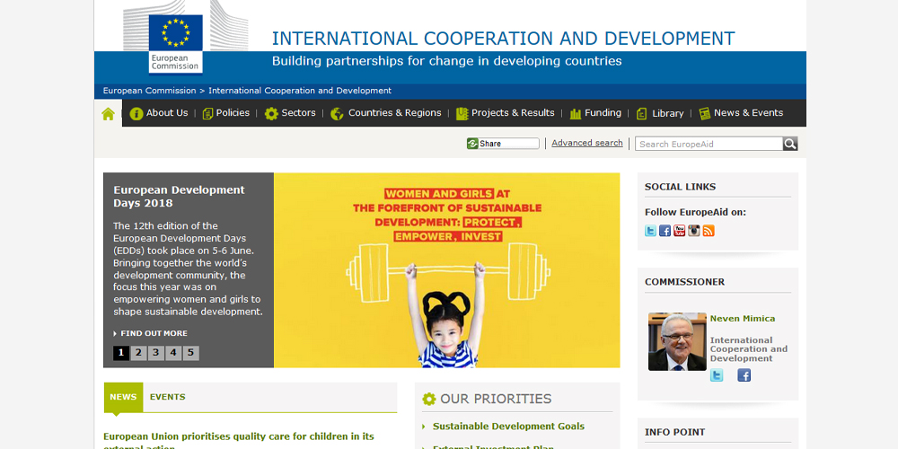 European Commission - International cooperation and development