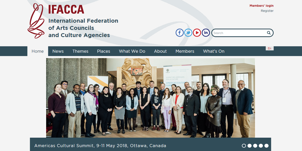 International Federation of Art Councils and Culture Agencies - IFACCA