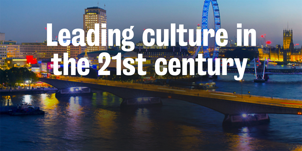 13-14/06/2017 King's College London Course: Leading culture in the 21st century