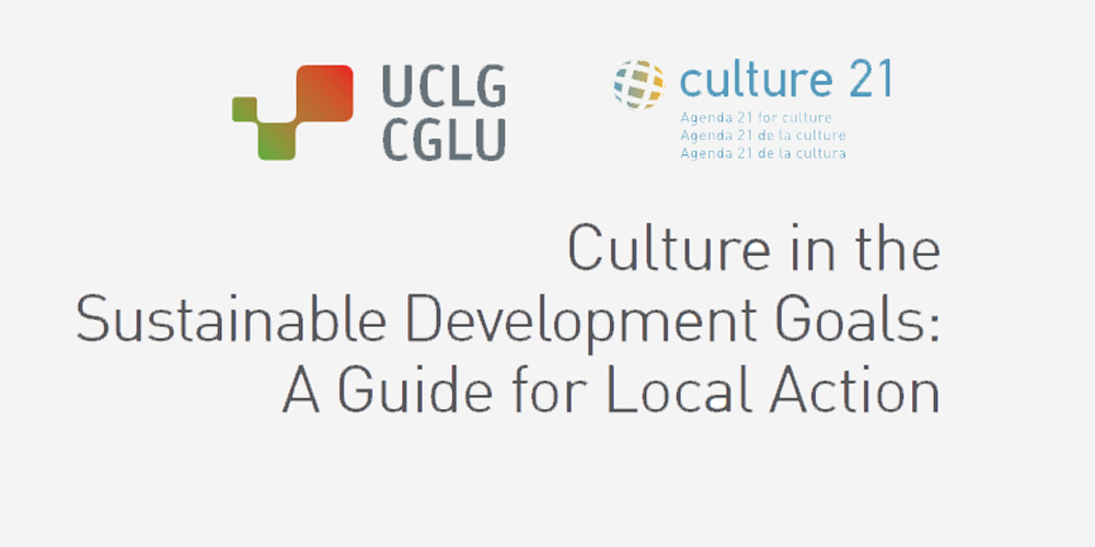 Culture in Sustainable Development