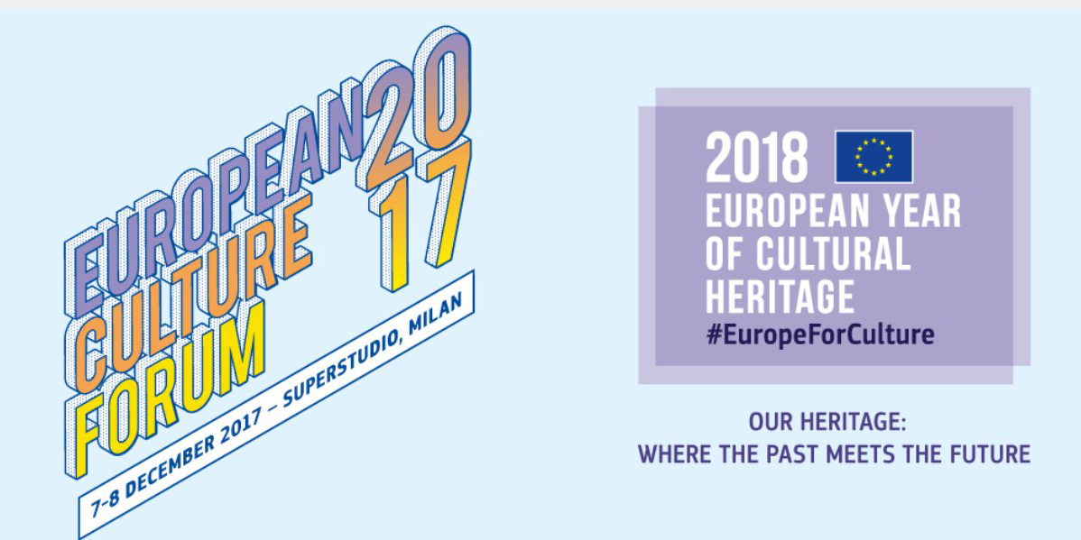 07-08/12/2017 European Culture Forum 2017, Milan, Italy