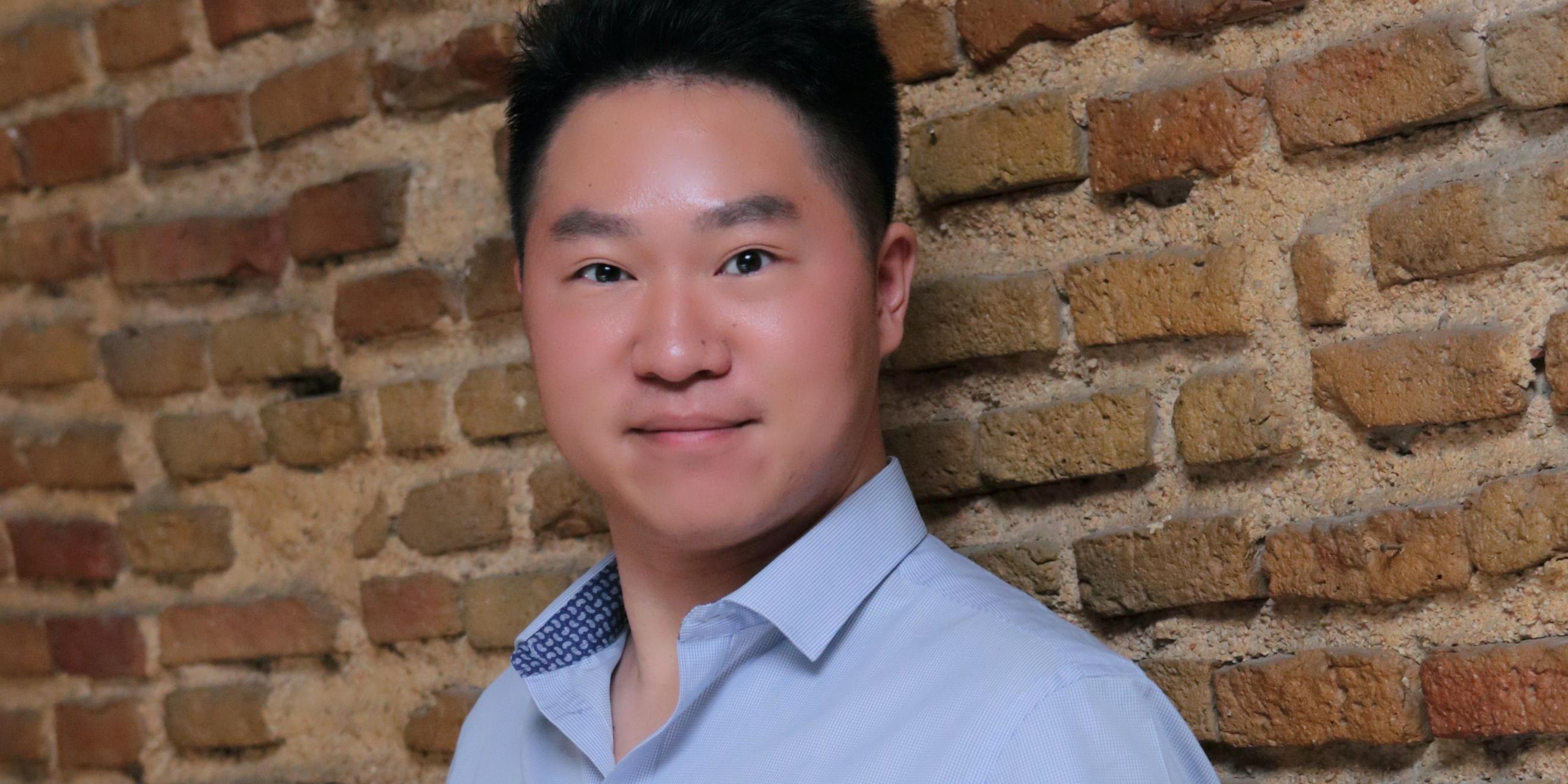 Zhenyu Zheng, China, participant in the GCLP 2017 edition
