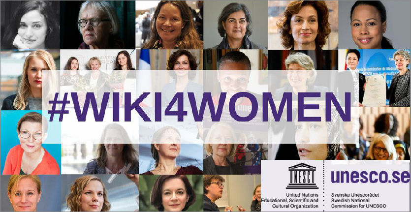 #WIKI4WOMEN World Contributory Movement