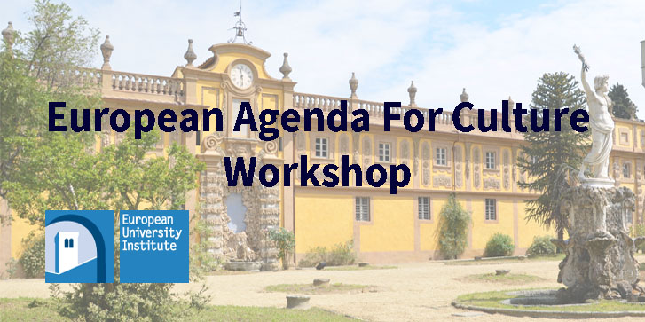 24/05/2018 New Agenda For Culture Workshop