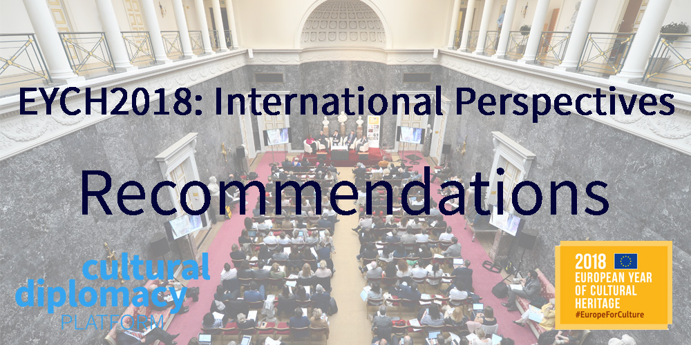 EYCH 2018 International Perspectives Forum: Recommendations