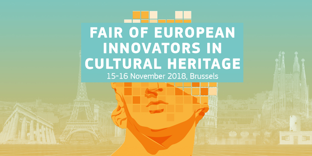 15-16/11/2018 Fair of European Innovators in Cultural  Heritage