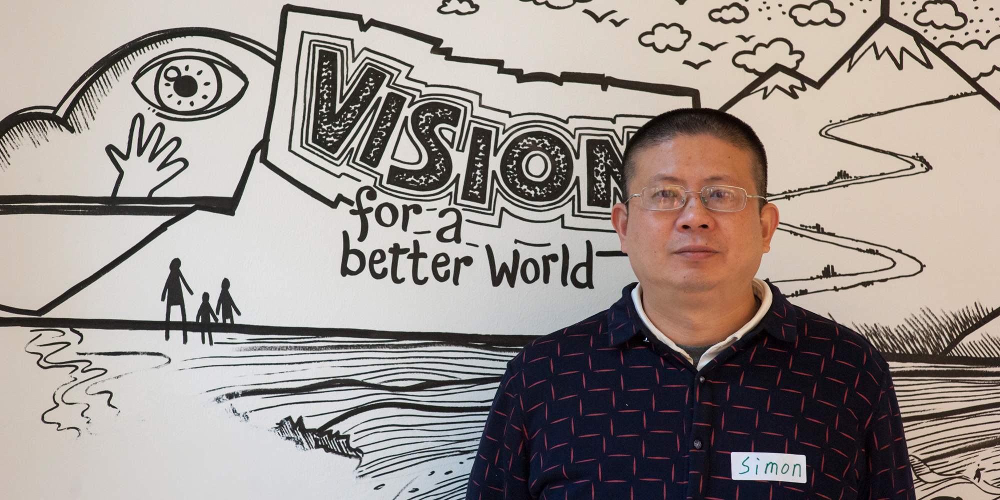 Simon Yin, China, participant in the GCLP 2018