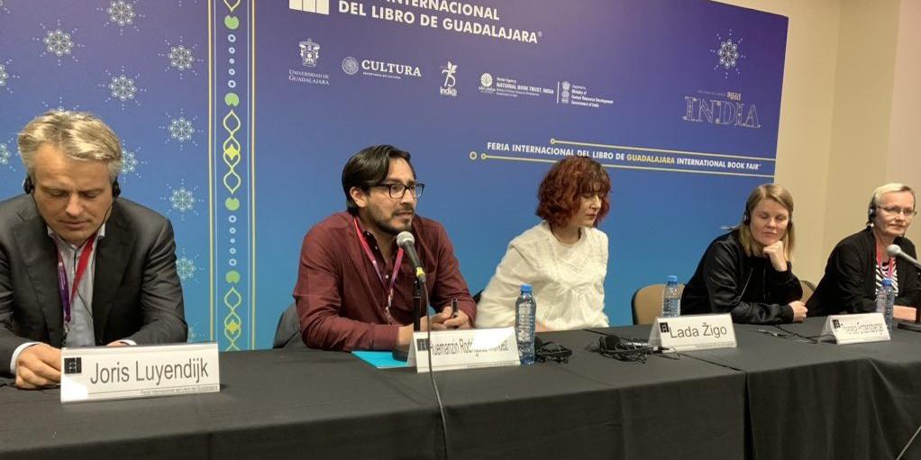 Lada Žigo at Festival de las Letras Europeas
