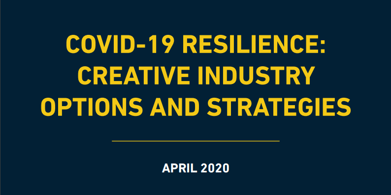 COVID-19 Resilience: Creative Industry Options and Strategies in East Africa